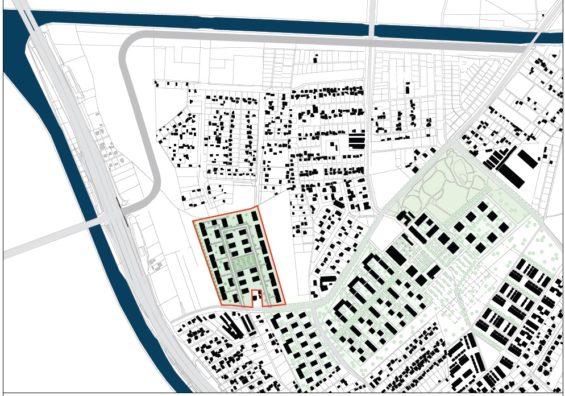 Städtebauliches Konzept für die Umverlegung einer Hauptverkehrsstraße